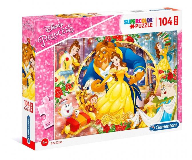 Clementoni legpuzzel Disney Belle & het Beest 104 stukjes
