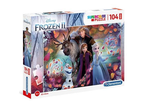 Clementoni legpuzzel Disney Frozen 2 104 stukjes
