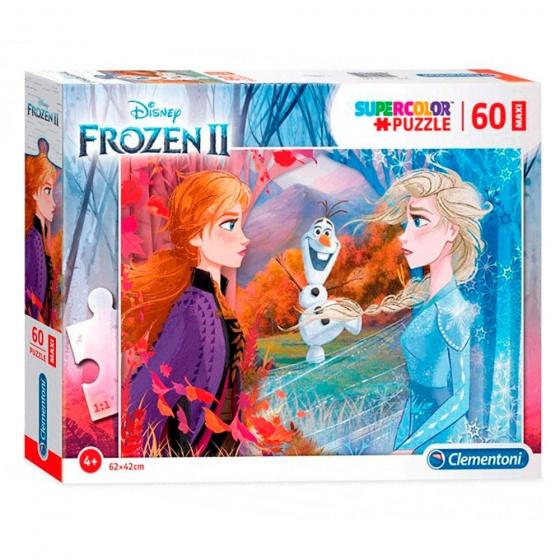 Clementoni legpuzzel Disney Frozen 2 60 stukjes