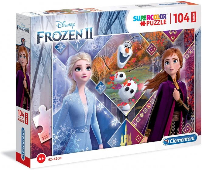 Clementoni legpuzzel Disney Frozen 2 Herfst 104 stukjes