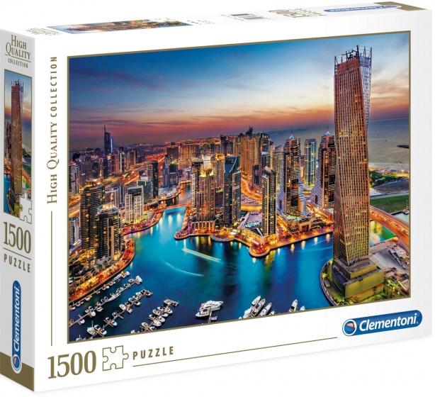 Clementoni legpuzzel Dubai Marina 1500 stukjes