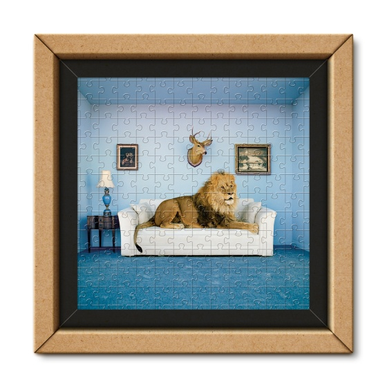 Clementoni legpuzzel Frame Me Up Master of the House 250 stukjes
