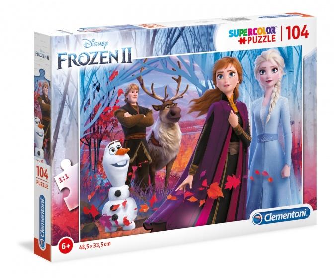 Frozen 2 Puzzel 104st