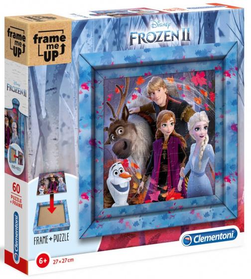 Clementoni legpuzzel Frozen II meisjes 27 cm karton 61 delig