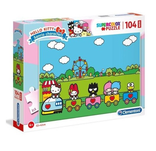 Clementoni legpuzzel Hello Kitty 104 stukjes