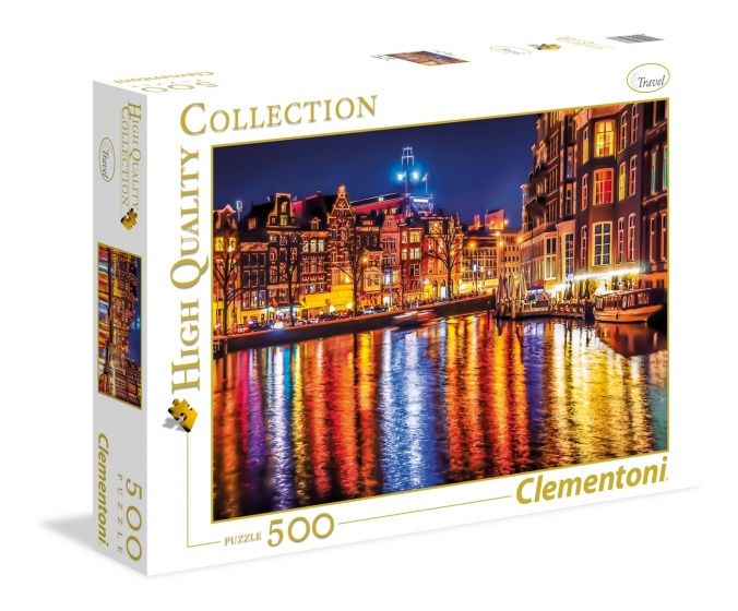 Clementoni legpuzzel High Quality Collection Amsterdam 500 stukjes