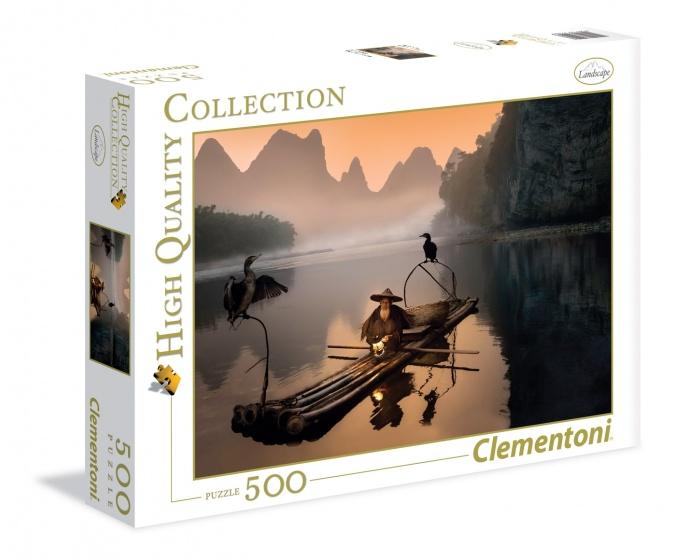 Clementoni legpuzzel Chinees Landschap 500 stukjes
