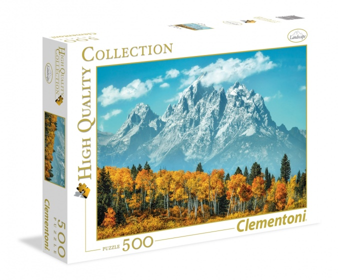 Clementoni legpuzzel High Quality Collection Grand Teton 500 stukjes