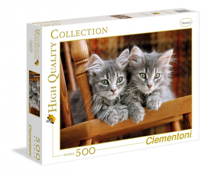 Clementoni legpuzzel High Quality Collection Kittens 500 stukjes