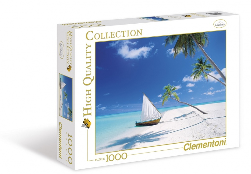 Clementoni legpuzzel High Quality Collection Malediven 1000 stukjes