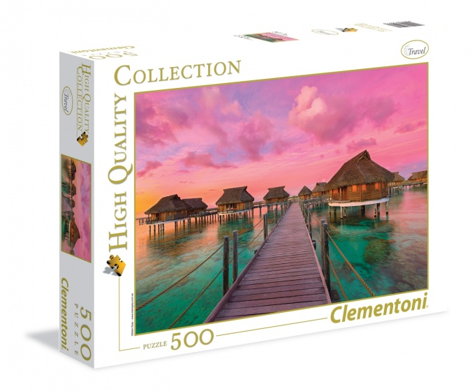 Clementoni legpuzzel High Quality Collection Paradijs 500 stukjes