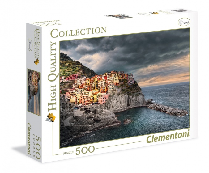 Clementoni legpuzzel High Quality Collection Postiano 500 stukjes