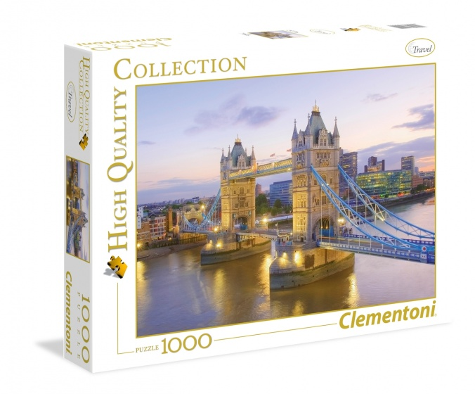 Clementoni legpuzzel Tower Bridge 1000 stukjes