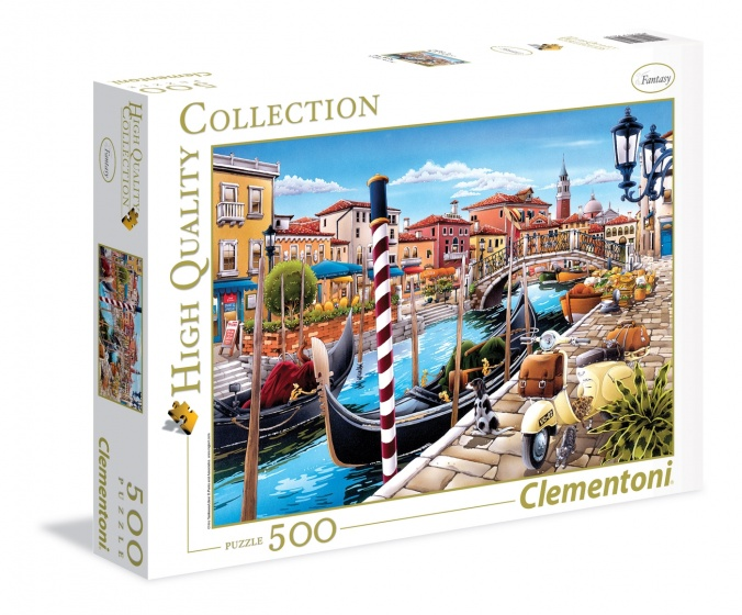 Clementoni legpuzzel High Quality Collection Veneti� 500 stukjes