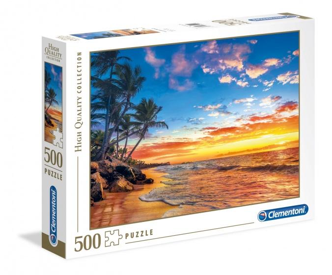 Clementoni legpuzzel High Quality Paradise Beach 500 stukjes