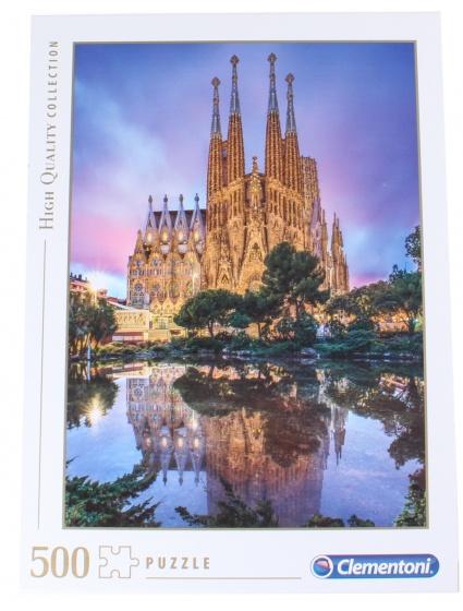 Clementoni legpuzzel HQ Collection Sagrada Famlia 500 st