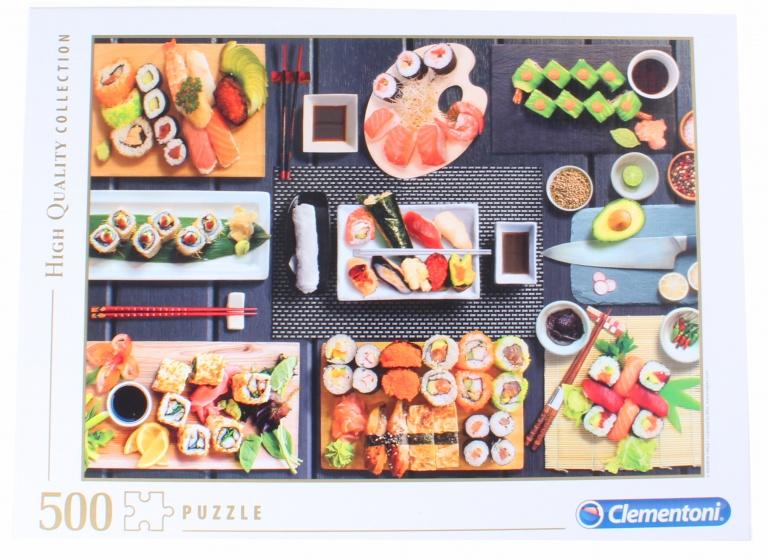Clementoni legpuzzel HQ Collection Sushi 500 st
