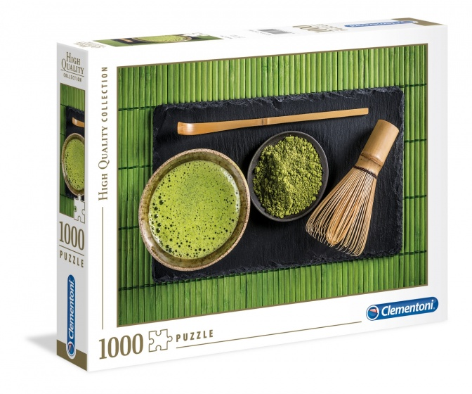 Clementoni legpuzzel HQ Matcha Tea 1000 stukjes