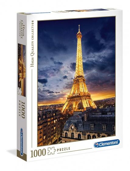 Clementoni legpuzzel HQ Tour Eiffel 1000 stukjes