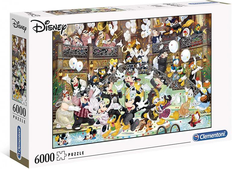 Clementoni legpuzzel HQC Disney Gala 6000 stukjes