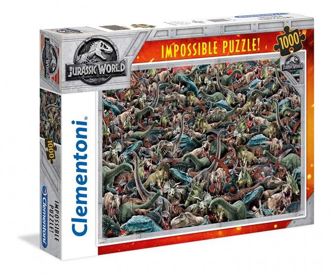 Clementoni legpuzzel Jurassic Impossible Puzzle 1000 stukjes