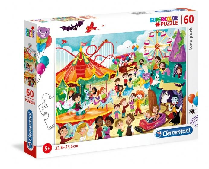 Clementoni legpuzzel Luna Park 60 stukjes