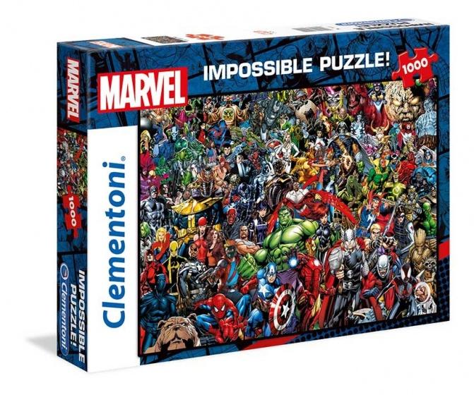 Clementoni Impossible Puzzel Avengers 1000st.