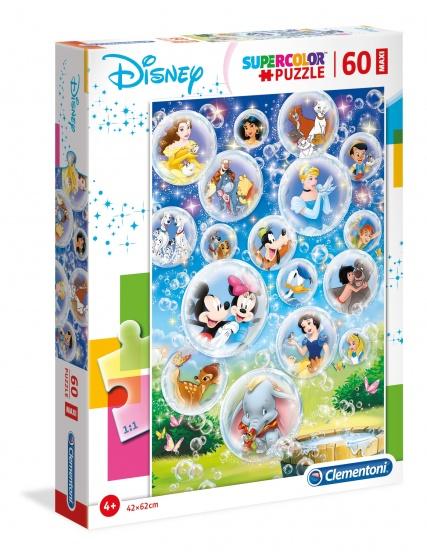 Clementoni legpuzzel Maxi Disney Classic 60 stukjes