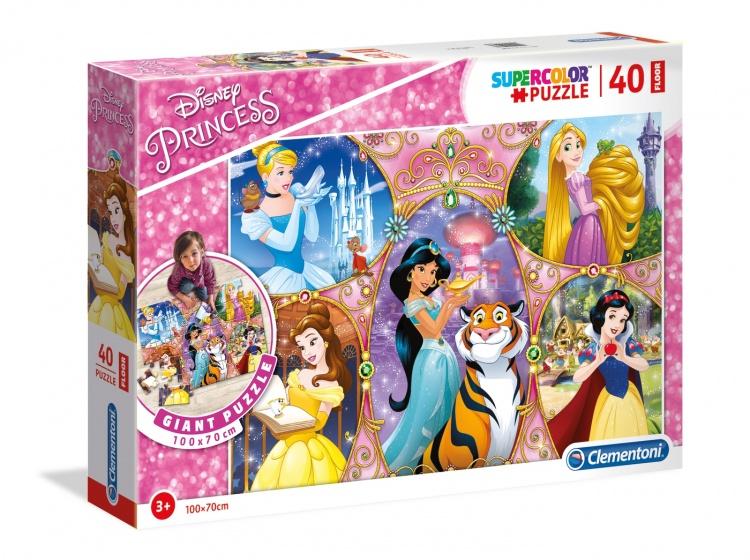 Clementoni legpuzzel Maxi Disney Princess 40 stukjes