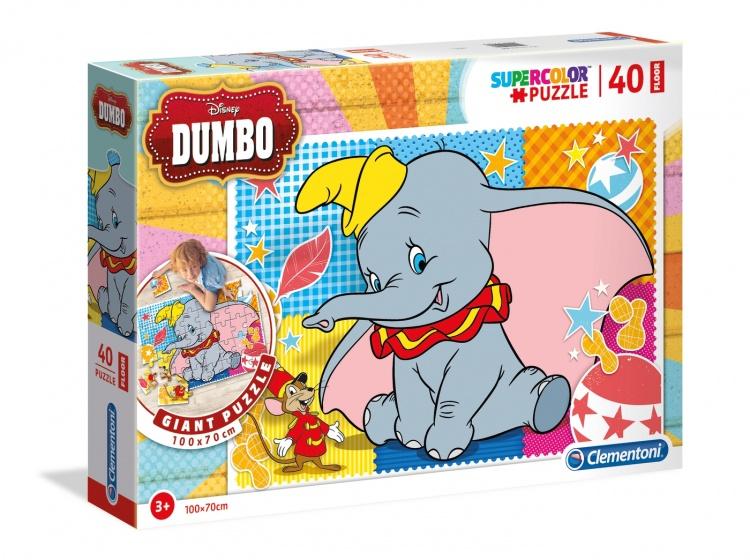 Clementoni legpuzzel Maxi Dumbo 40 stukjes