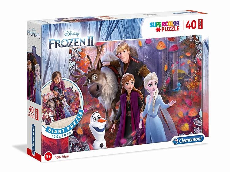 Clementoni legpuzzel Maxi Frozen 2 Herfst 40 stukjes