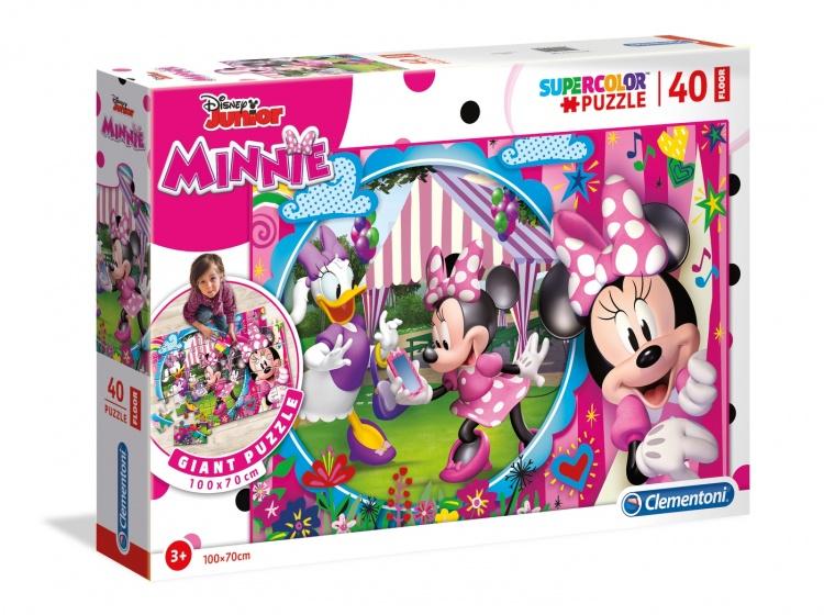 Clementoni legpuzzel Maxi Minnie Mouse 40 stukjes