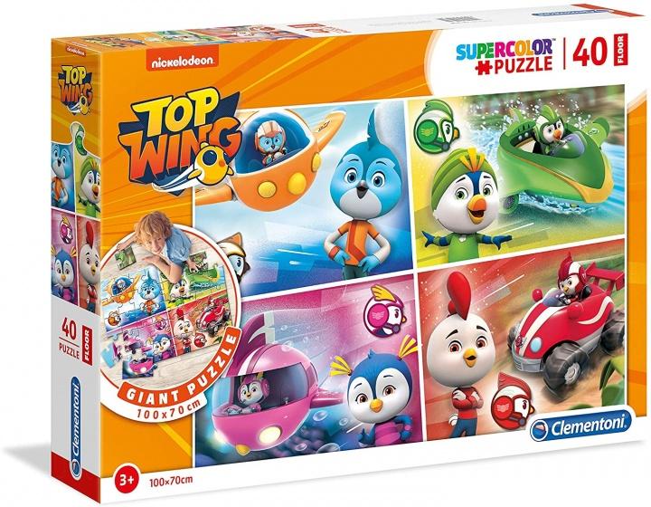 Clementoni legpuzzel Maxi Top Wings 40 stukjes