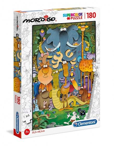 Clementoni legpuzzel Mordillo Supercolor 180 stukjes