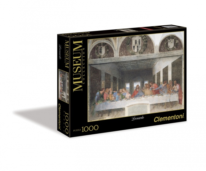 Clementoni legpuzzel Museum Collection Da Vinci 1000 stukjes