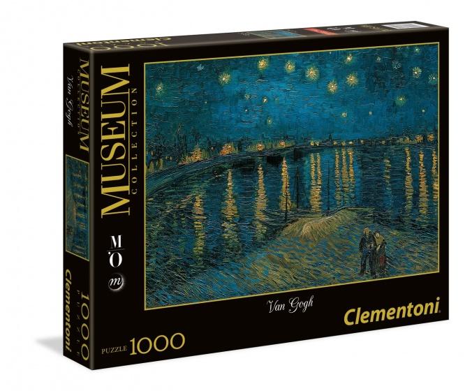 Clementoni legpuzzel Museum Collection Van Gogh 1000 stukjes