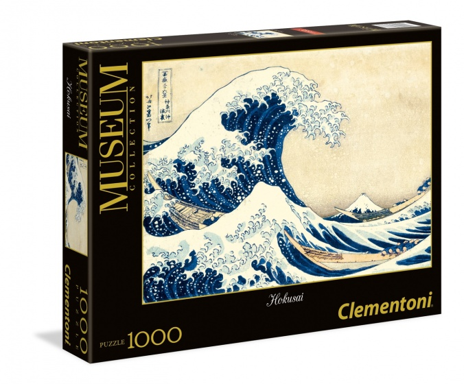 Clementoni legpuzzel Museum Collection Hokusai 1000 stukjes