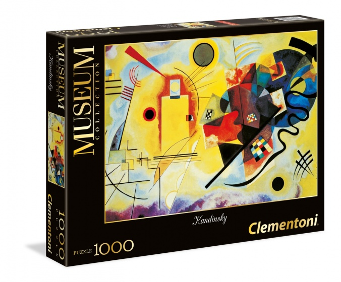 Clementoni legpuzzel Museum Collection Kandinsky 1000 stukjes