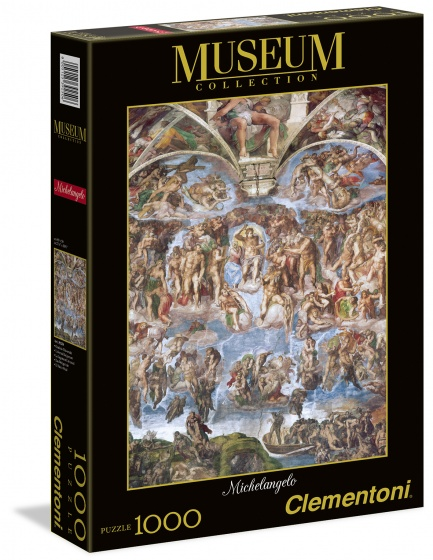 Clementoni legpuzzel Museum Collection Michelangelo 1000 stukjes