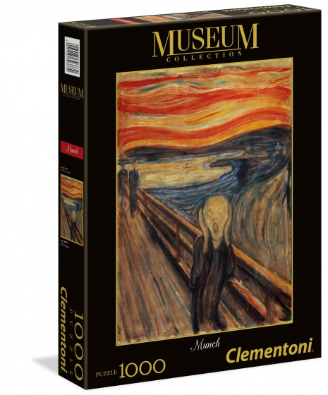 Clementoni legpuzzel Museum Collection Munch 1000 stukjes
