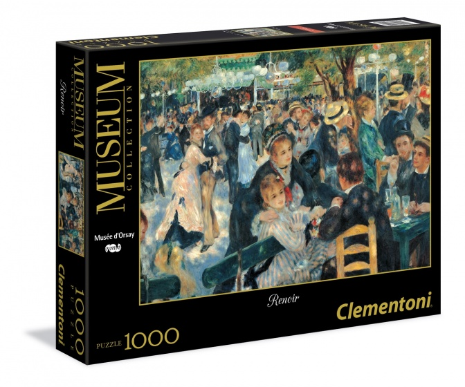 Clementoni legpuzzel Museum Collection Renoir 1000 stukjes