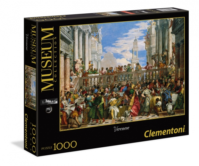 Clementoni legpuzzel Museum Collection Veronese 1000 stukjes