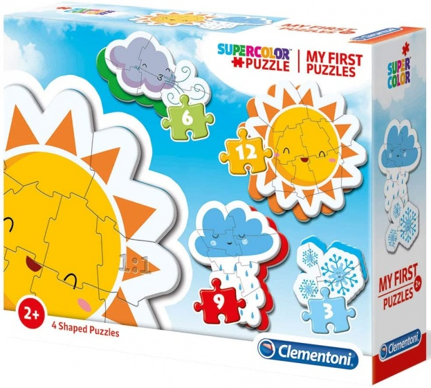 Clementoni legpuzzel My First Puzzle Atmosfeer 4 puzzels
