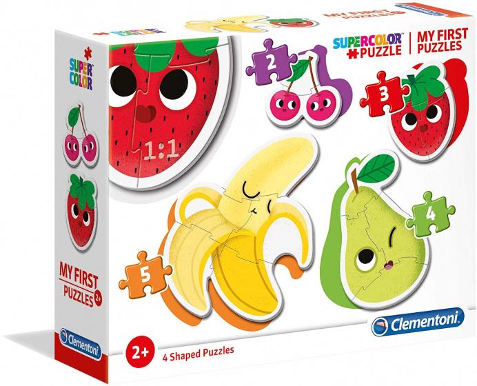 Clementoni legpuzzel My First Puzzle Fruit 4 puzzels