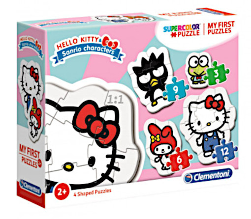 Clementoni legpuzzel My First Puzzle Hello Kitty 4 puzzels