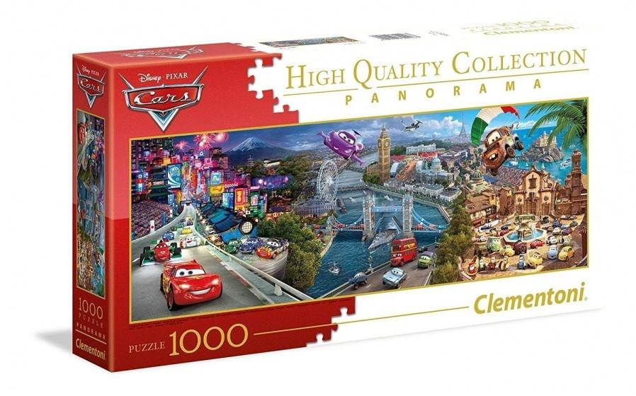 Clementoni legpuzzel Panorama Disney Cars 1000 stukjes