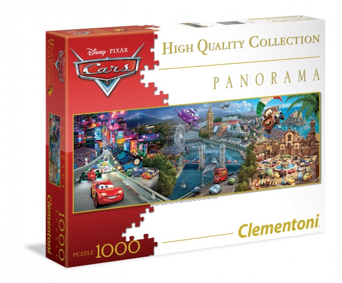Clementoni Panorama puzzel Cars 1000 stukjes