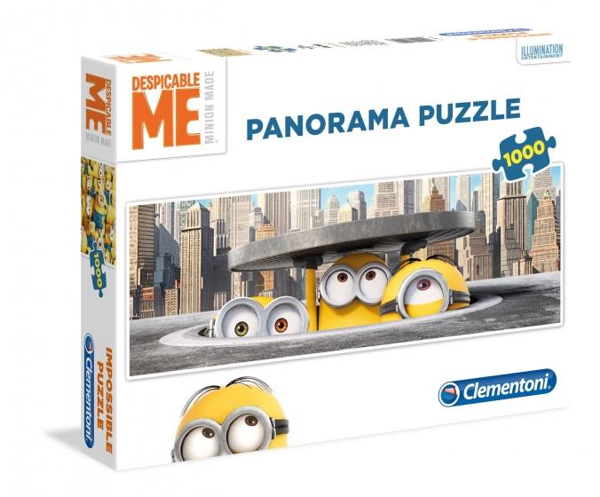 Clementoni Panorama puzzel Minions 1000 stukjes