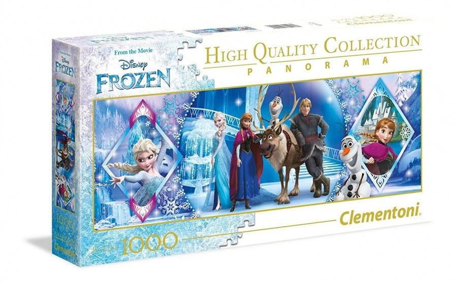 Clementoni legpuzzel Panorama Disney Frozen 1000 stukjes