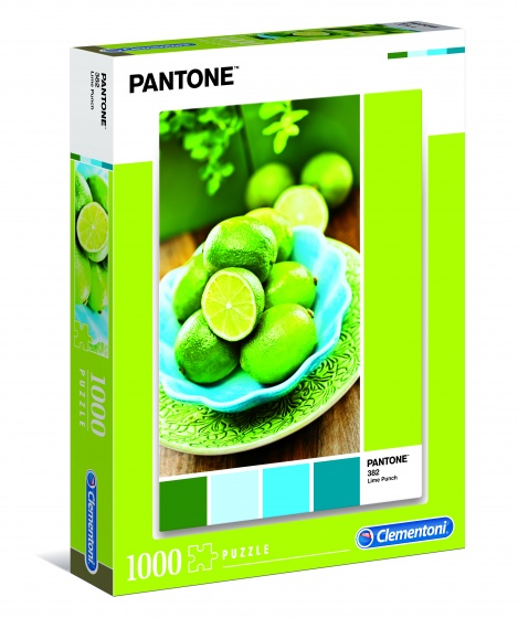 Clementoni legpuzzel Pantone Lime Punch 1000 stukjes